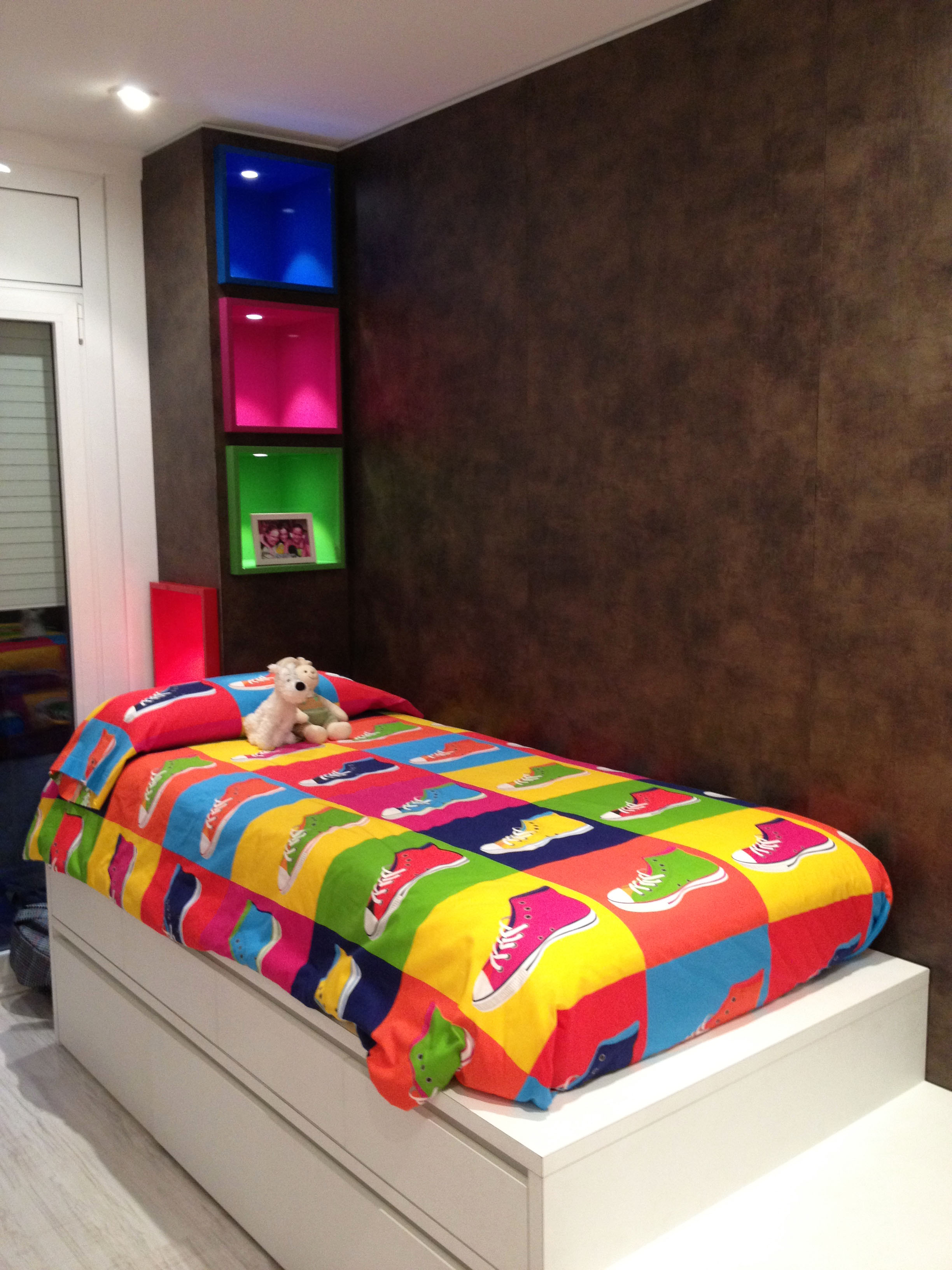 Habitaciones infantiles fusteria cano for Habitaciones infantiles mobiliario